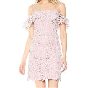 French Connection Floral Lace  Dress New Size 6